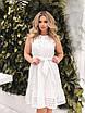 Белое летнее расклешенное Платье, фото 6