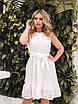 Белое летнее расклешенное Платье, фото 9
