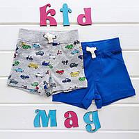 Детские шорты Carters «Красочные машинки» 3м,6м,9м,12м,18м