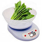 Электронные весы кухонные круглые LIVSTAR с чаше до 5kg, фото 2