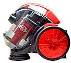 Контейнерный пылесос DOMOTEC MS-4409 - 3000W, домашний пылесос циклонного типа, фото 3