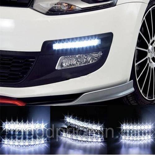 Дневные ходовые огни ДХО по 8 LED ламп