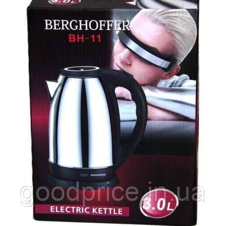 Электрочайник 3.0л / 2000Вт Berghoffer