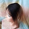 """Накладка на макушку, моно-система из натуральных волос MONO10""""/2-L4/27, фото 2"""