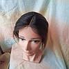 """Накладка на макушку, моно-система из натуральных волос MONO10""""/2-L4/27, фото 3"""