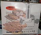 Электромясорубка с функцией реверс Wimpex 2000Вт, фото 4