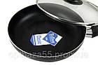 Сковородка A-plus 22 см с крышкой, тефлоновое покрытие, фото 2