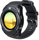 Умные смарт часы Smart Watch V8 черные, электронные наручные часы, спорт часы, фитнес часы, фото 2