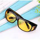 Антибликовые очки 2в1 ночные и дневные HD Vision WrapArounds, фото 3