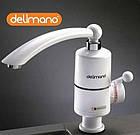 Мгновенный проточный кран водонагреватель электрический кран бойлер нижнее подключение, фото 3