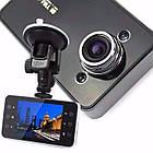 Автомобильный видеорегистратор DVR K6000, Full HD обзор 170° ночное видения,  авто видео регистратор, фото 2