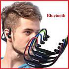 Спортивные беспроводные Bluetooth НАУШНИКИ с креплением на шее, влагонепроницаемые, фото 7