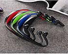 Спортивные беспроводные Bluetooth НАУШНИКИ с креплением на шее, влагонепроницаемые, фото 3