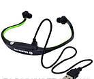 Спортивные беспроводные Bluetooth НАУШНИКИ с креплением на шее, влагонепроницаемые, фото 5