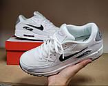 Кросівки чоловічі NIKE AIR MAX 90 білі М0159, фото 5