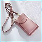 Сумка-портмоне-клатч 3 в 1 Baellerry Originall, женский кошелек портмоне клатч, фото 7