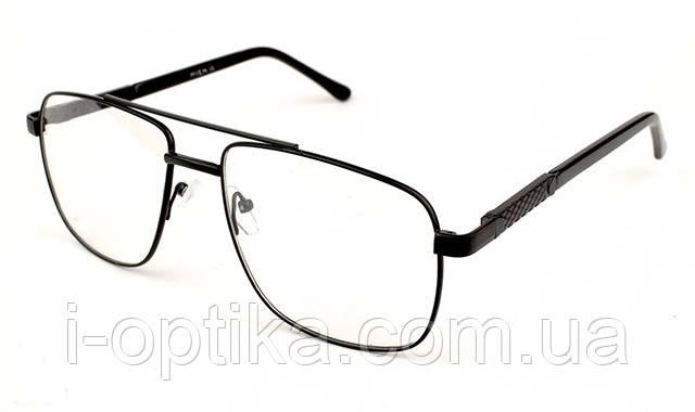 Мужские очки по рецепту в металлической оправе