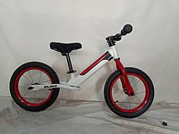 Велосипед без педалей беговел детский 14 дюймов JK-07