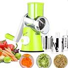 Ручная овощерезка Kitchen Master мультислайсер механический для овощей и фруктов, фото 2