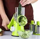Ручная овощерезка Kitchen Master мультислайсер механический для овощей и фруктов, фото 3