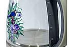 ЭЛЕКТРИЧЕСКИЙ ЧАЙНИК RAINBERG Стеклянный электрочайник, фото 3