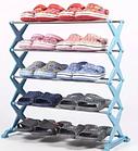 Полка стойка органайзер для обуви 5 полок 15 пар Shoe Rac Amazin, фото 3
