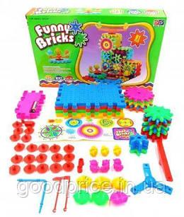 Детский конструктор Фани Брикс 81 деталь Funny Bricks конструкторы для детей