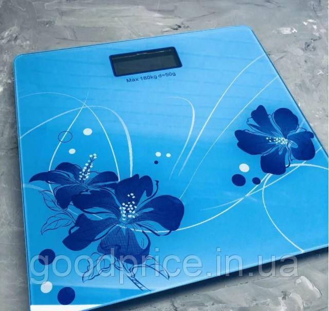 Электронные напольные портативные весы до 180 кг с LCD-дисплеем
