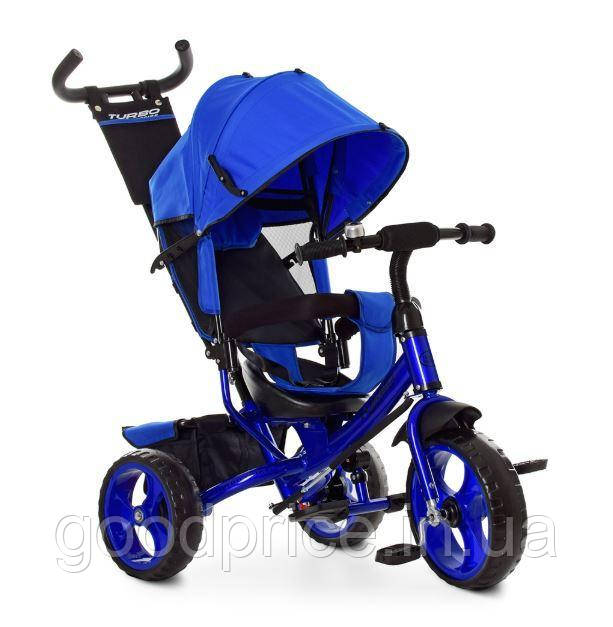 Велосипед трехколесный Turbotrike Синий