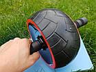 Тренажер Ролик (колесо) для мышц пресса Profi, фото 5