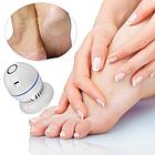 Электрическая пемза для ног PEDI VAC, аккумуляторный прибор для удаления мозолей Педи вак, фото 2