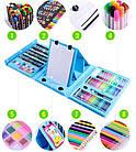 Набор для рисования и творчества с мольбертом в чемоданчике 208 предметов Super Mega Art Set, фото 8