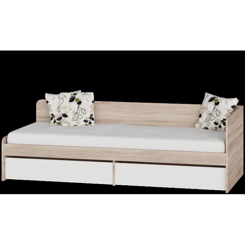 Детская кровать Соната 800 + 2 ящика Эверест