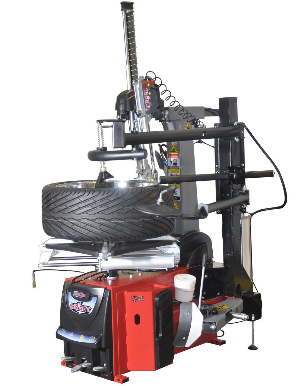 """Шиномонтажний стенд BRIGHT автомат (10""""-26"""", технороллер, пневмовибух, Auto Hook) GT887NS-AL390 220V"""
