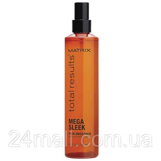 Термозахисний спрей для волосся Matrix Total Results Mega Sleek Iron Smoother 250 мл