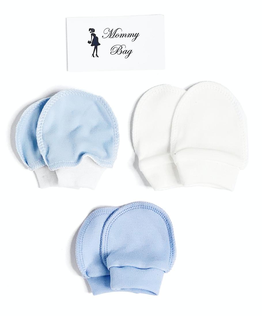 Рукавички-царапки набор 3 шт для мальчика