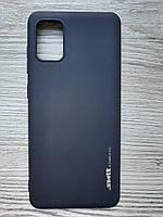 Чехол силиконовый SMTT Samsung A31 Black, фото 1