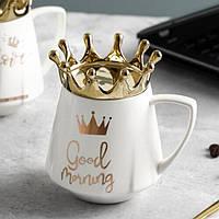 Чашка Королевская Корона Good Morning