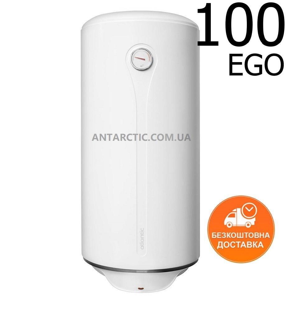 Бойлер 100 л, літрів ATLANTIC EGO STEATITE VM 100 D400-1-BC водонагрівач електричний накопичувальний