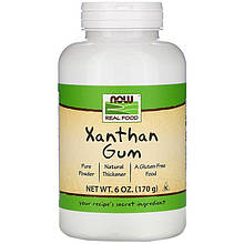 """Натуральная ксантановая камедь NOW Foods """"Xanthan Gum"""" чистая (170 г)"""