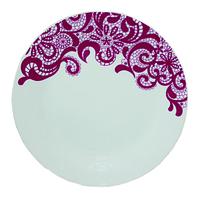 "Тарелка десертная ""Кружево"", керамика (20 см.), фото 1"