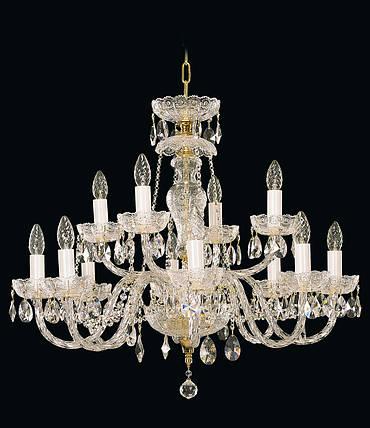 Хрустальный светильник, фото 2