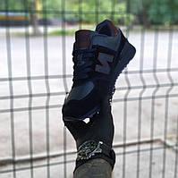 Мужские кроссовки черные New Balance