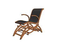 Уникальное кресло-качалка металлическое