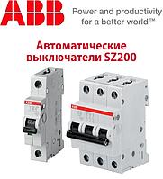 Автоматичні вимикачі SZ 200 Характеристика В