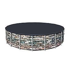 Каркасный бассейн Bestway Loft 56966 (488х122) с картриджным фильтром, фото 2