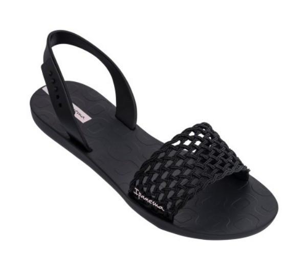 Ipanema Бразилия женские сандалии, босоножки черные