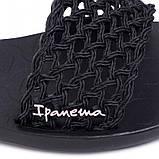 Ipanema Бразилія жіночі сандалі, босоніжки чорні, фото 6