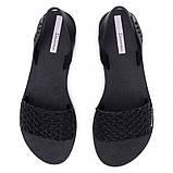 Ipanema Бразилія жіночі сандалі, босоніжки чорні, фото 5