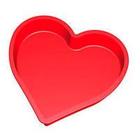 """Форма силиконовая для запекания """"Сердце 25,5*24,5*4cm НН-218"""